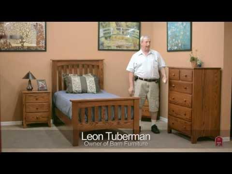barn-furniture---amish-shaker-bedroom-set