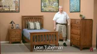 Barn Furniture - Amish Shaker Bedroom Set