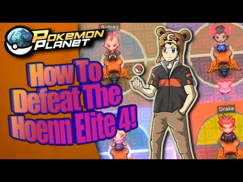 Pokemon Planet - Hoenn Elite 4 guide!