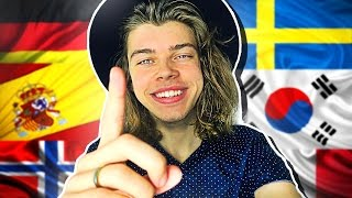 One of Jarl Andersen's most viewed videos: TEEN SPEAKS 15 LANGUAGES!