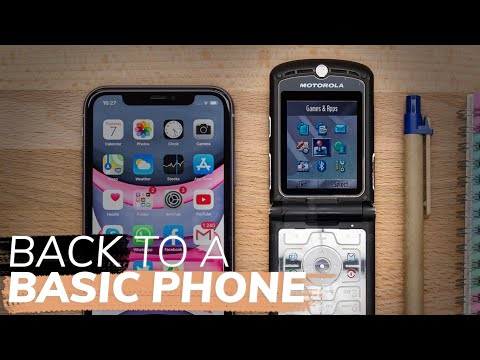 I switched back to a basic phone, and here is what happened
