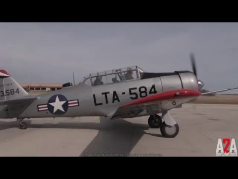 "Accu-Sim T-6 Texan ""The Six"" - 15 Minute Demonstration"