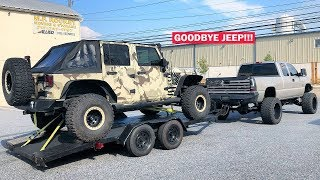 GIVING MY LIFTED JEEP TO A TOTAL STRANGER!!! + MY TUNED ZR1 VS MCLAREN 720S Rematch!