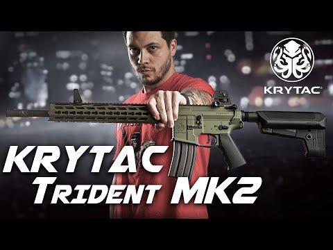 Best Out of the Box AEG – Krytac Trident MK2 AEG – RedWolf Airsoft RWTV