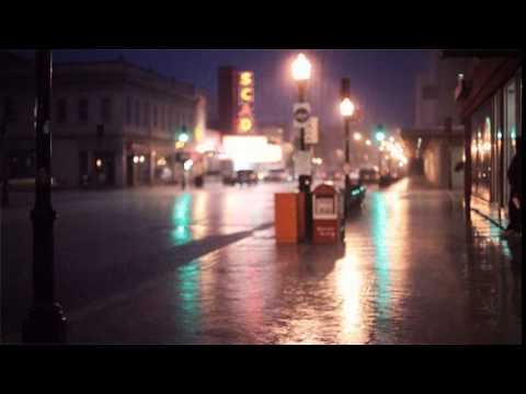 RAIN IN THE NIGHT CITY : Smooth Jazz Music and Rain with Quotes to Enjoy Life
