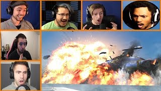 Let's Players Reaction To The Aurora Exploding | Subnautica