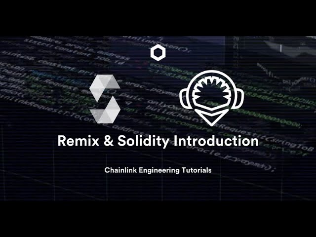 Intro to Remix & Solidity, deploy your first Smart Contract - Chainlink Engineering Tutorials