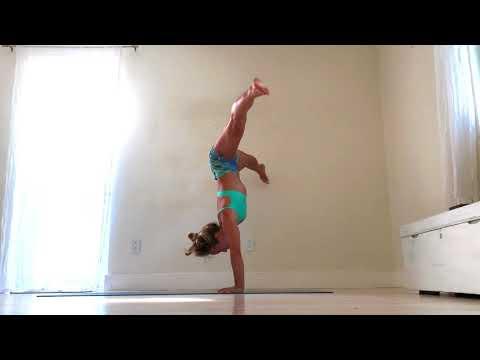 Yoga Demo -- Tittibhasana to Handstand to L-Sit with Kino