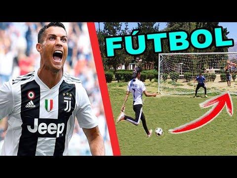 CRISTIANO RONALDO CHALLENGE ¡Retos de fútbol épicos! (parte 2)