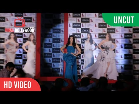 UNCUT - Aishwarya Rai Bachchan At Launch Of Loreal Paris Cannes 2016 Collection