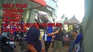 Test Ride Yamaha FreeGo Padang| test ride rusuh bareng inoel motovlog| #duo'skampret #29