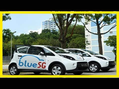 Breaking News | Electric car-sharing service to roll into singapore
