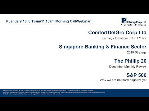 Market Outlook: Banking Sector, Phillip 20 Portfolio, ComfortDelGro, S&P 500