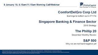 Market Outlook: Banking Sector, Phillip 20 Portfolio, ComfortDelGro, S&P 500