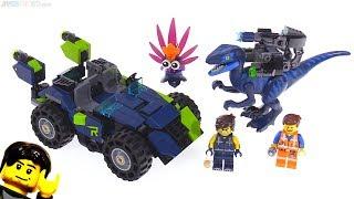LEGO Movie 2 Rex's Rex-treme Offroader review! 70826