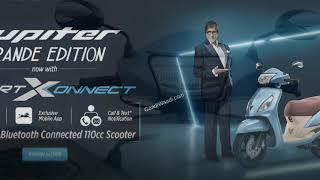 2019 TVS Jupiter Grande 110 Launched With SmartXonnect Bluetooth