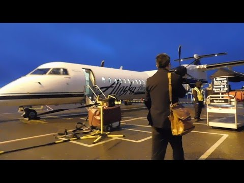 Alaska (Horizon) Air Full Flight SEA-GEG: On to Spokane!