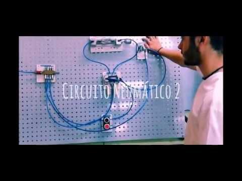 Circuito Neumatico Simple : Selectividad circuitos hidrÁulicos y neumÁticos