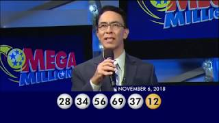 Mega Millions Drawing Results Tuesday, November 06, 2018. Winning Numbers. Good Luck Everyone!