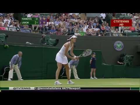 Sabine Lisicki VS Ana Ivanovic Highlight(Wimbledon) 2014 R2