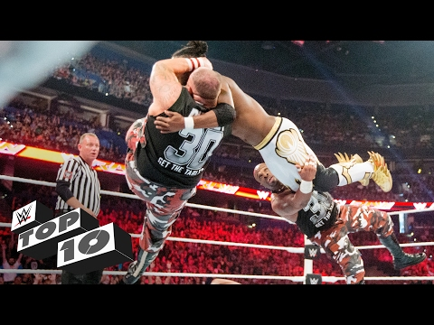 Thumbnail: Greatest Tag Team Finishers: WWE Top 10