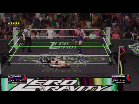 XWC Zero Gravity: Bryan Van Cise vs Aiden Mitchell