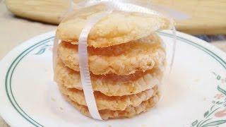 [Viet&Eng CC]Coconut cookies - Bánh quy dừa - ChiChi Nguyễn