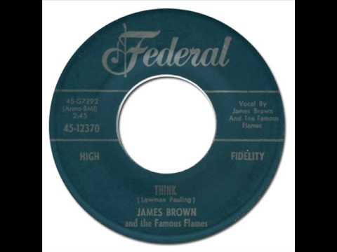 JAMES BROWN & THE FAMOUS FLAMES - Think [King 12370] 1960