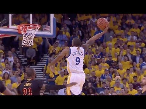 Andre Iguodala Exposes LeBron's Overrated Defense - 2017 NBA Finals