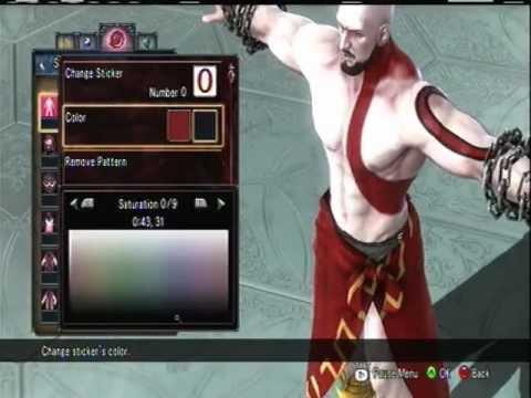 Soul Calibur V Custom Character Kratos
