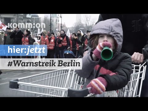 Warnstreik in Berlin - 13.02.2019