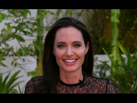 Angelina Jolie Interview on Brad Pitt, 'First They Killed my