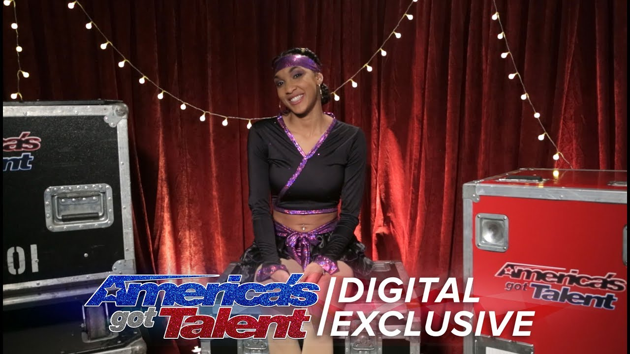 Shemika Charles Gives Us The Lowdown On Her AGT Performance America's Got Talent 2017