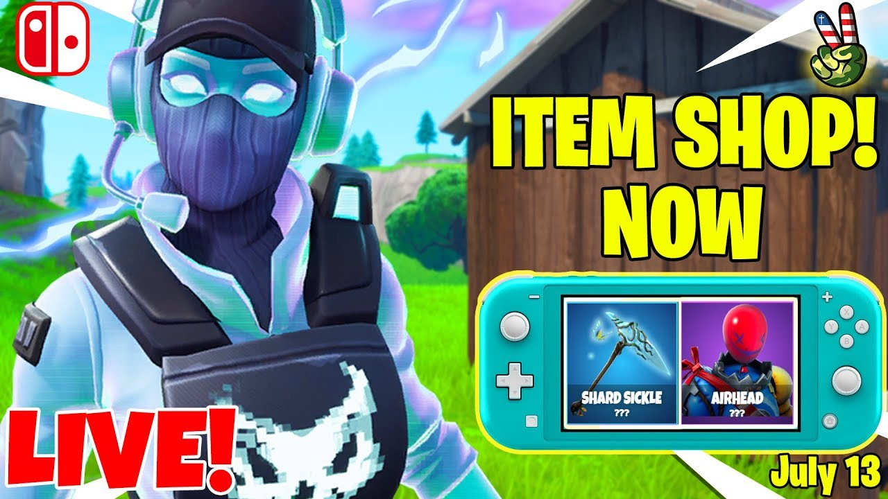 2029d5abc7 Fortnite Switch Player! // ITEM SHOP JULY 13, 2019 // (Fortnite Battle  Royale LIVE) – Shopping time