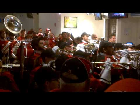 Band plays NIU Huskie fight song - 2012