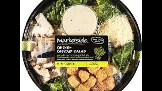 Walmart Market Fresh Cesar Chickan Salad
