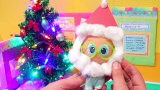 SWTAD Nerlie Preschool Christmas Churro is Santa ! Toys and Dolls Fun for Kids & Baby Doll Play