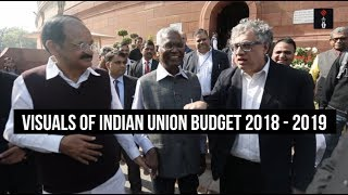 Visuals from Indian Union Budget Session 2018 - 2019