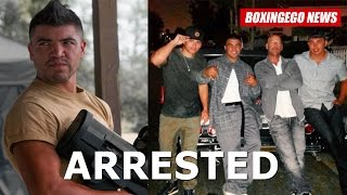 Boxing Superstar Victor Ortiz Arrested--assault W/ Deadly Weapon