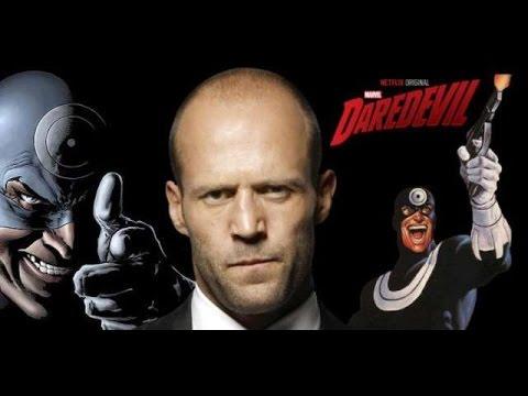 REEL TALK: Jason Statham Being Eyed for Bullseye in DAREDEVIL