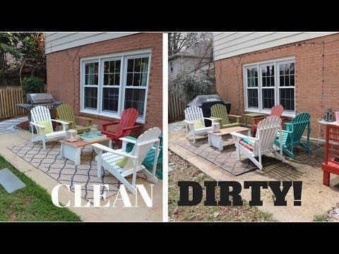 week-1:-i-pressure-washed-my-patio!-i'm-addicted-now...-:)
