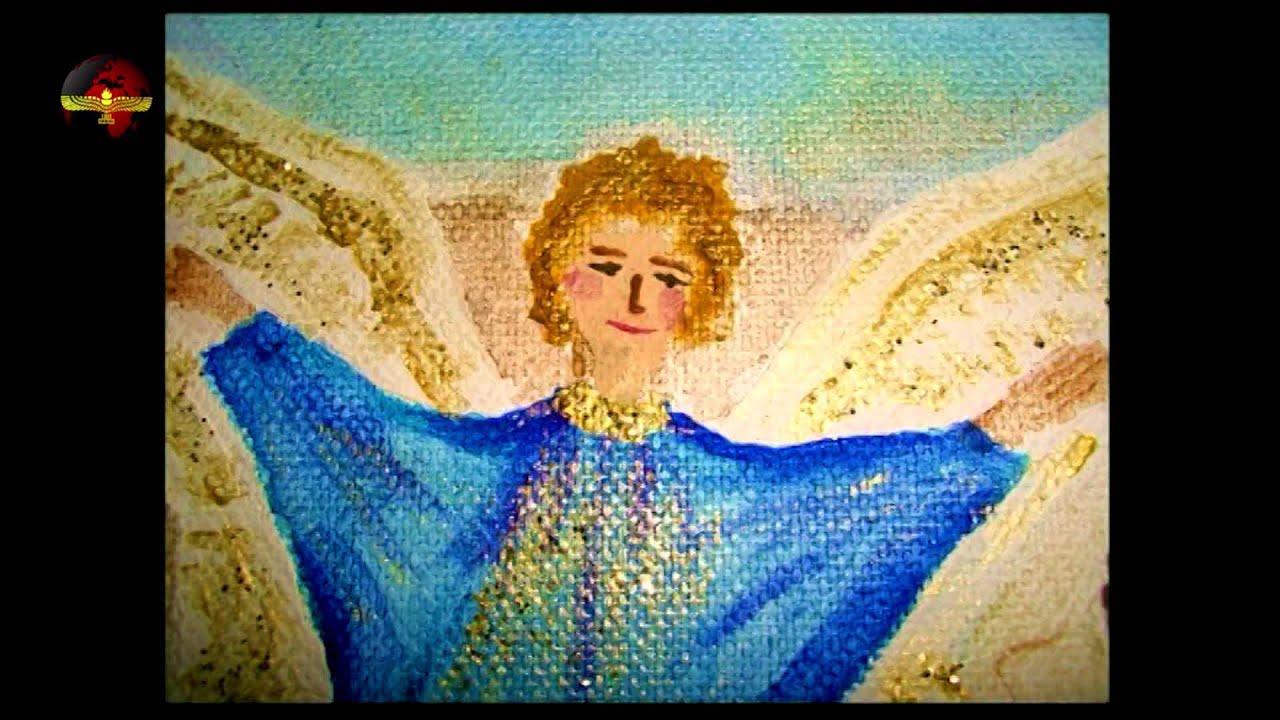 Die Weihnachtsgeschichte auf Aramäisch aus dem Lukas-Evangelium ...