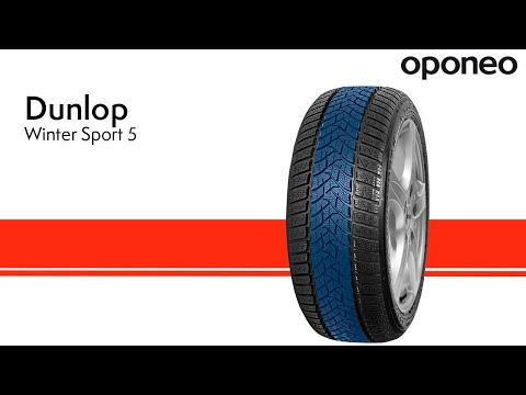 Tyre Dunlop Winter Sport 5 ● Winter Tyres ● Oponeo™