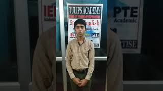 English Speaking Classes in Dehradun, Tulips Academy. Bhaskar, Roll Number-575.