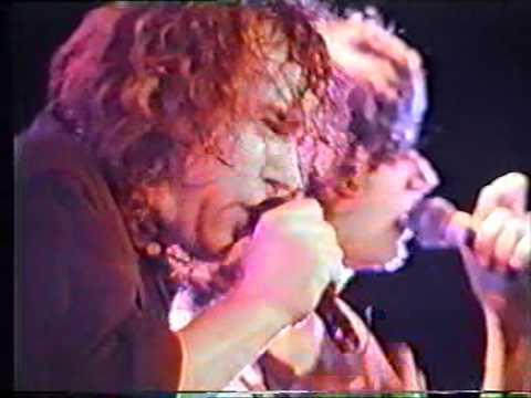 Jimmy Barnes - live - No Second Prize 1989