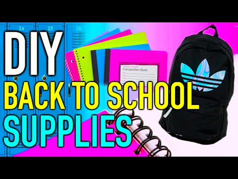 Back to School: DIY supplies + Giveaway! (closed)