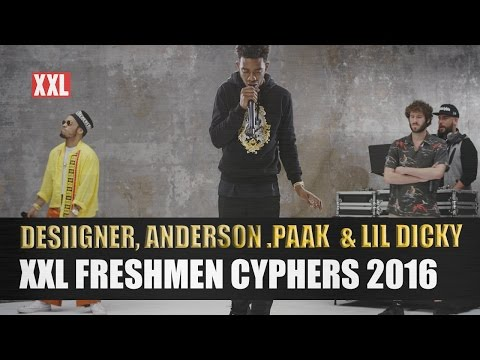 Thumbnail: Desiigner, Lil Dicky & Anderson .Paak's 2016 XXL Freshmen Cypher