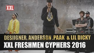 Video Desiigner, Lil Dicky & Anderson .Paak's 2016 XXL Freshmen Cypher download MP3, 3GP, MP4, WEBM, AVI, FLV September 2018