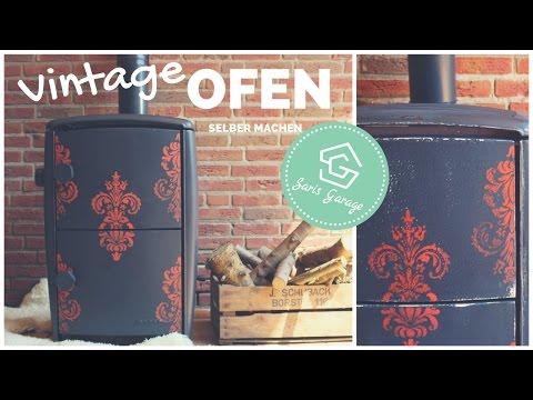 Alter Ofen aus den 50ern | DIY | Vintage Upcycling | Shabby Chic | DIY Möbel Anleitung