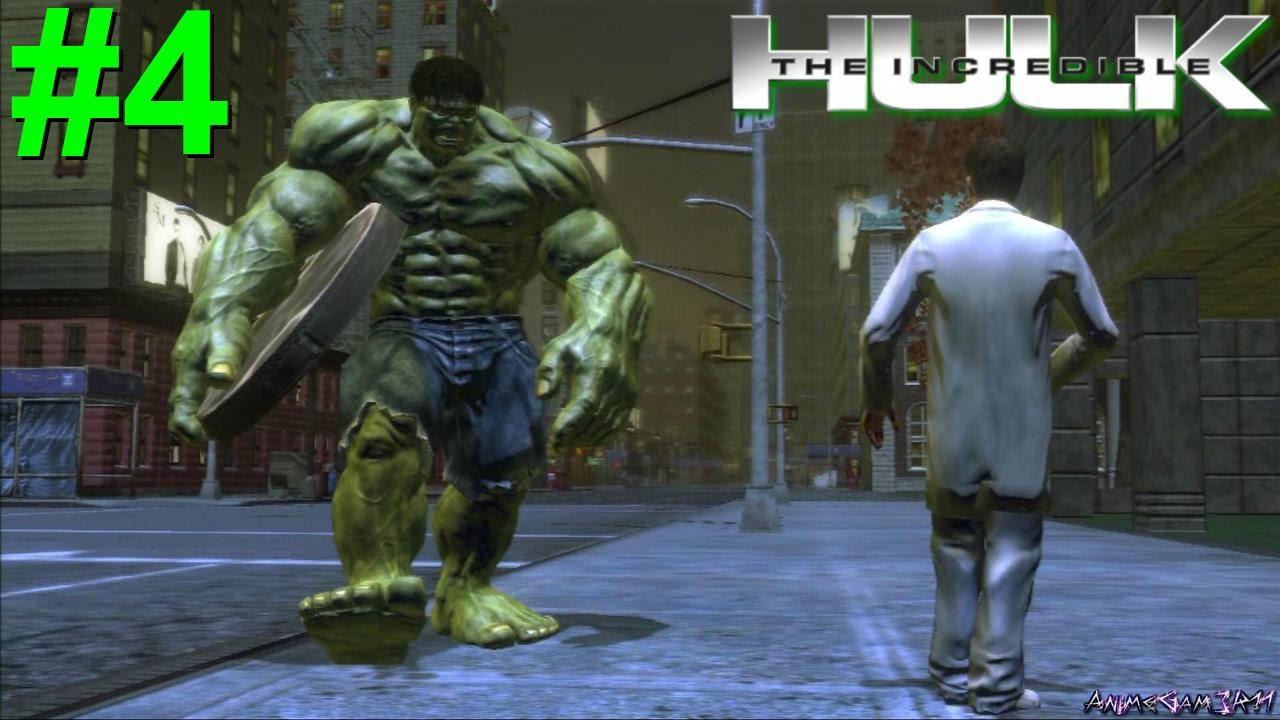 New INcredible Hulk Game- Secret Characters - YouTube